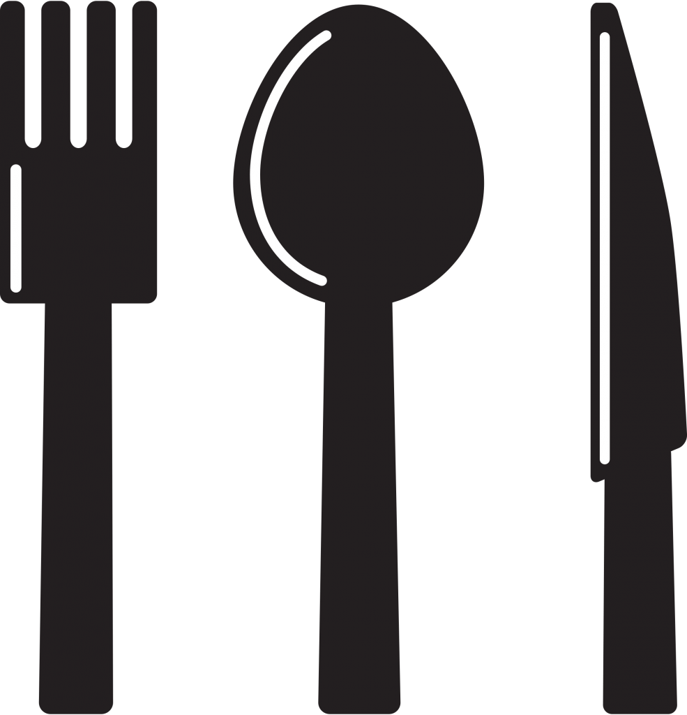 Clipart Kitchen Icon Knife Spoon Fork Clipart