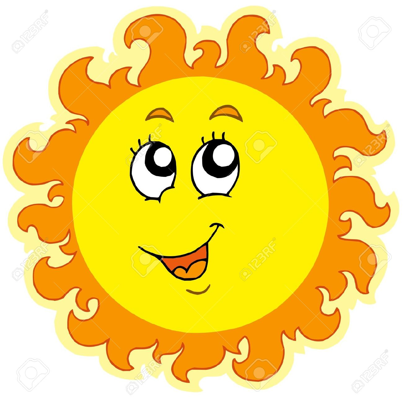 Clipart Sunshine Stock Photos Pictures Royalty Free Clipart