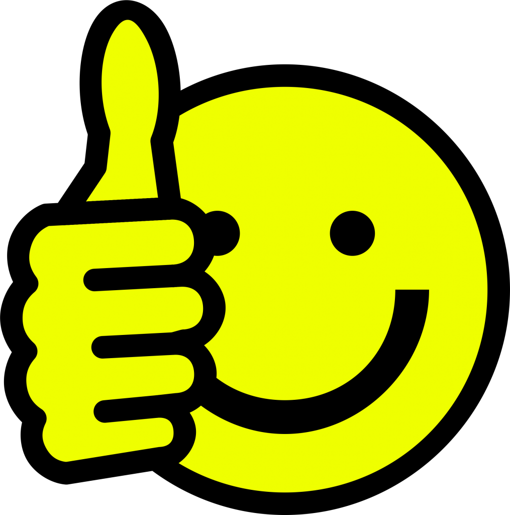 Clipart Thumbs Up Smiley