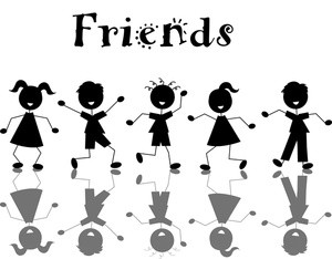 Cliparti1 Friends Clip Art