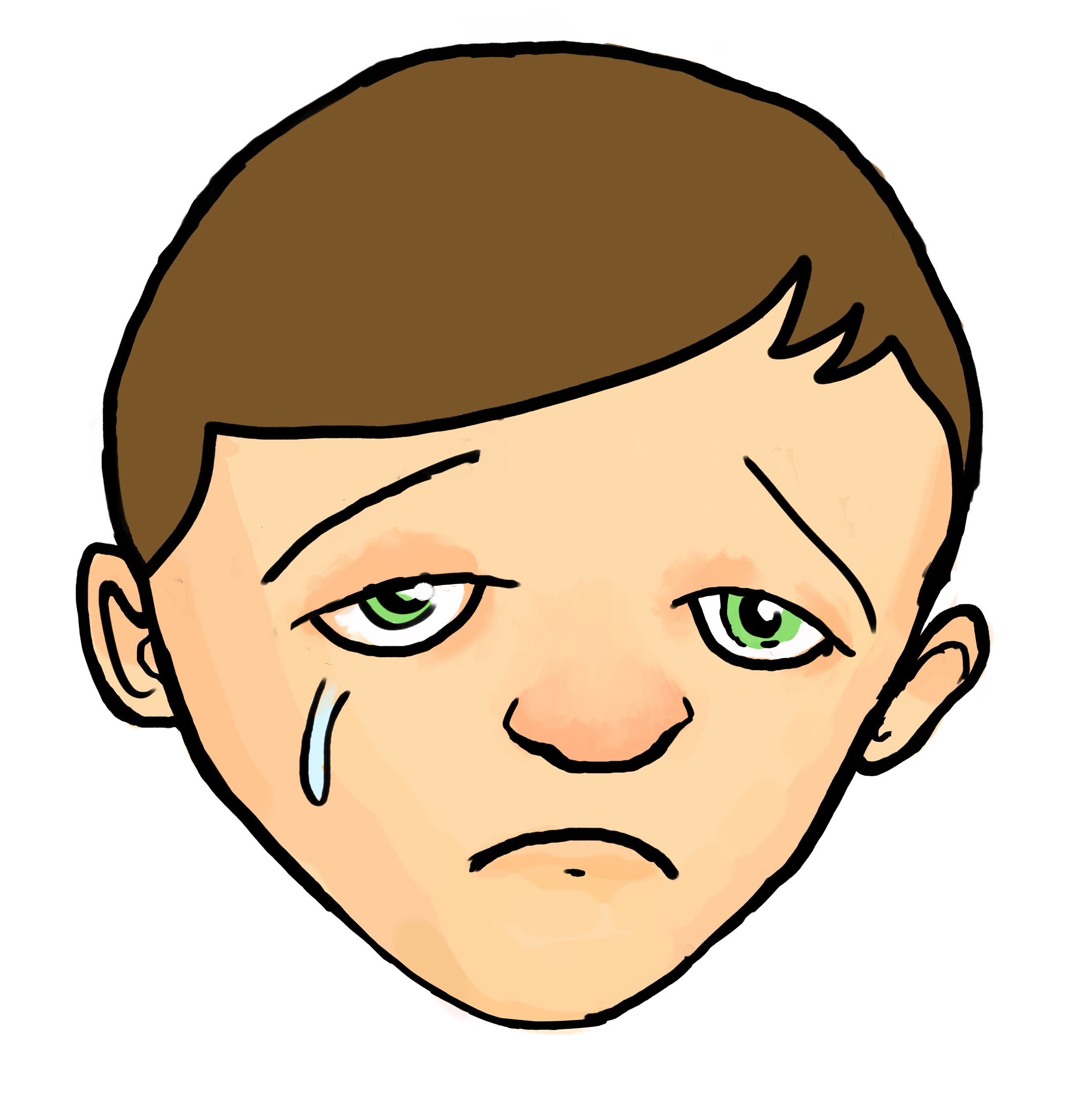 Best Sad Face Clip Art #1260 - Clipartion.com