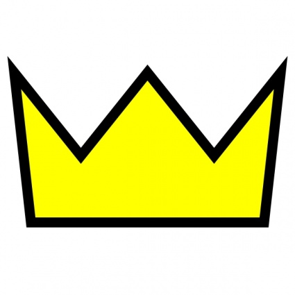 Clothing King Crown Icon clip art vector, free vector graphics ...