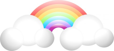 Cloud Rainbow Clip Art Free Vector For Free Download About