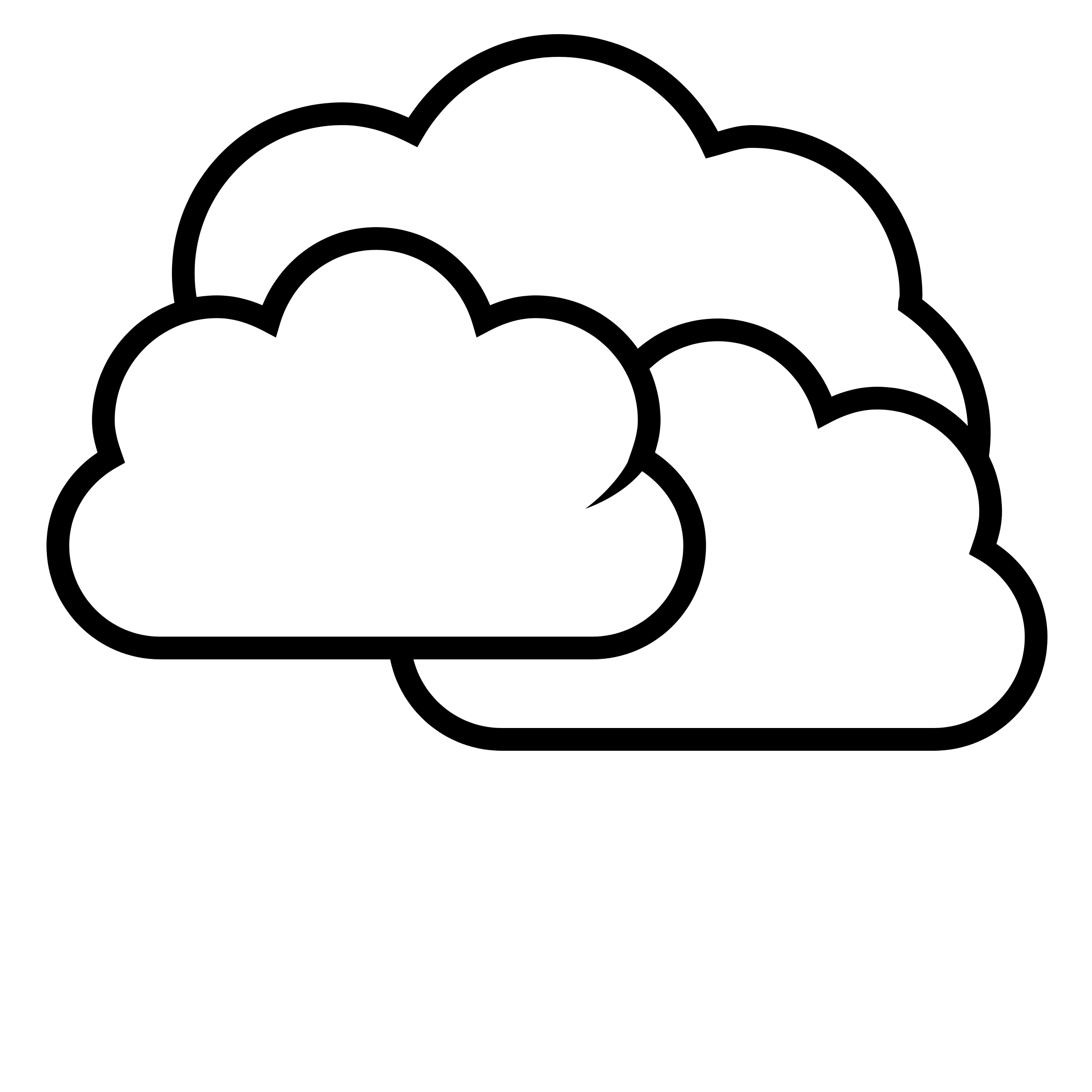 Clouds Clipart Black And White