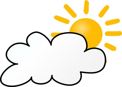 Cloudy Weather Clipart Free Clipart Images