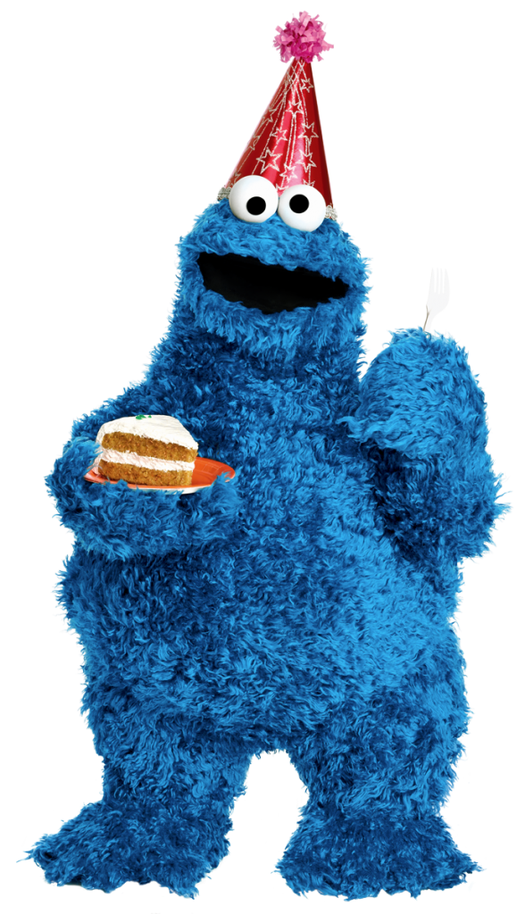 Cookie Monster 5 Muppet Hub