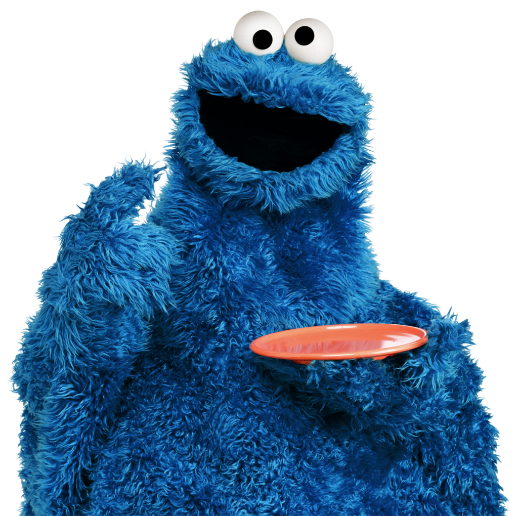 Cookie Monster Muppet Hub
