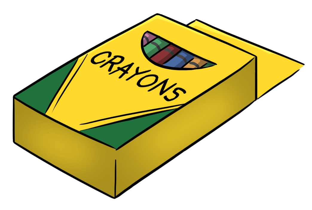 Crayon Box Clipart Free Clipart Images