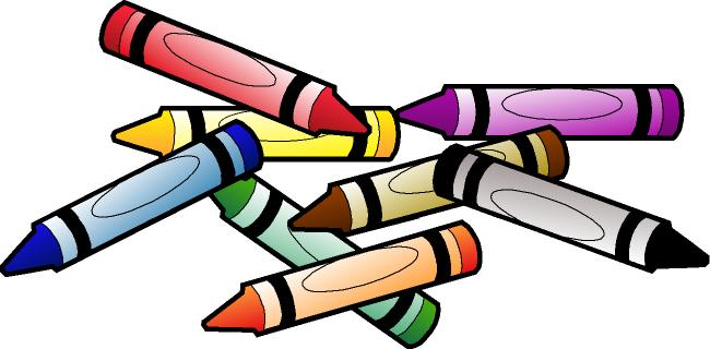 Crayon Clip Art Black And White Free Clipart Images