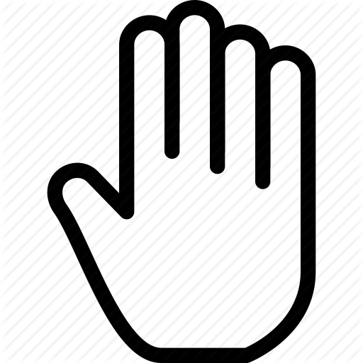 Creative Finger Fingers Five Five Fingers Gesture Grid Hand