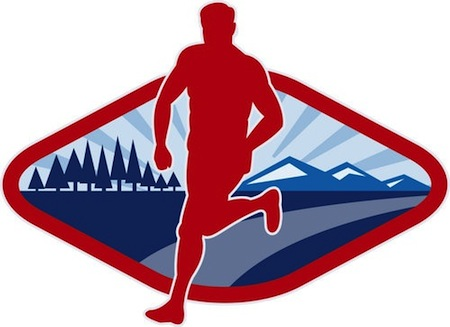 Cross Country Running Clip Art