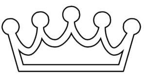Crown Outline Clip Art at Clker.com - vector clip art online, royalty ...