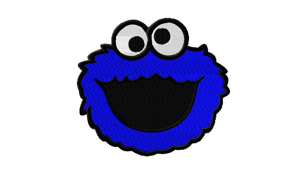Cute Cartoon Cookie Monster