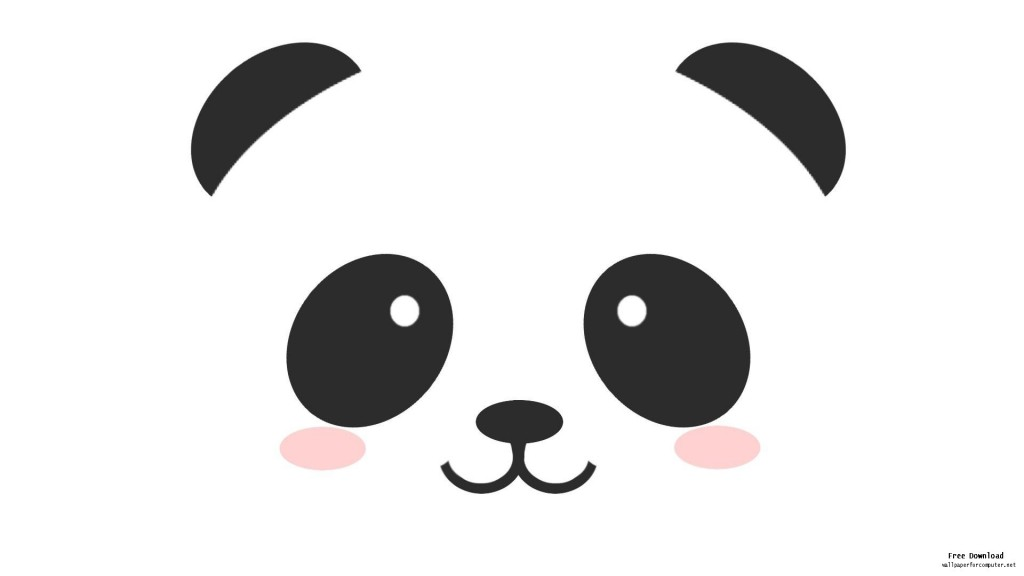 Cute Cartoon Panda Drawings Clipart Free Clipart