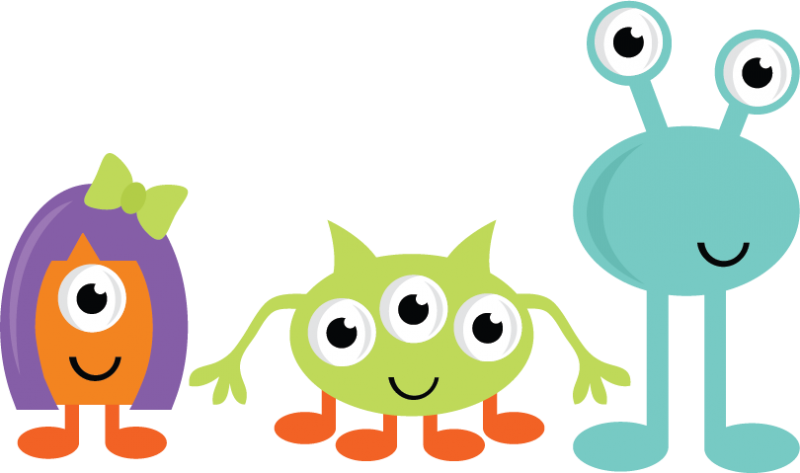 Cute Halloween Monster Clipart Free Clipart Images