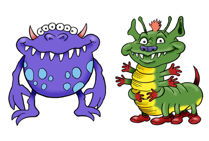 Cute Monster Clipart Free Clip Art Images