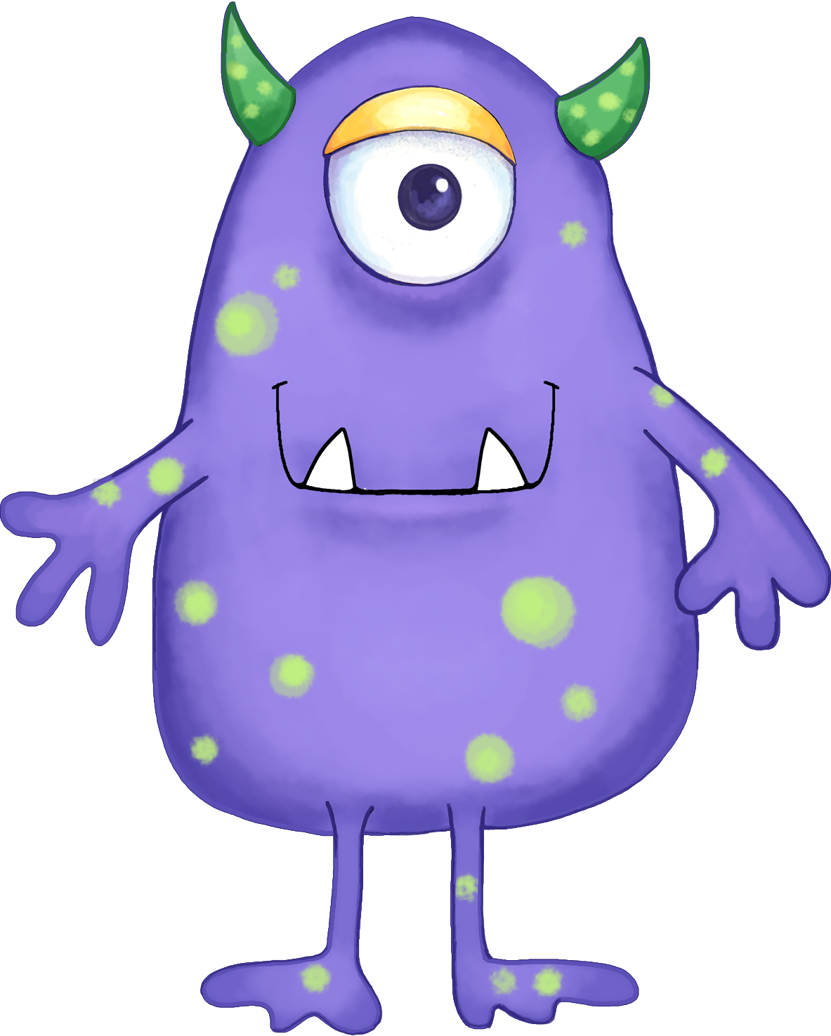 Best Monster Clipart #3372 - Clipartion.com