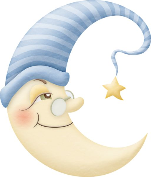 Cute Moon Clipart Good Night Pinterest Clip Art And Art