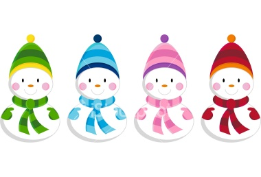 Cute Snowman Clipart Vector Magz Free Download Vector Graphics