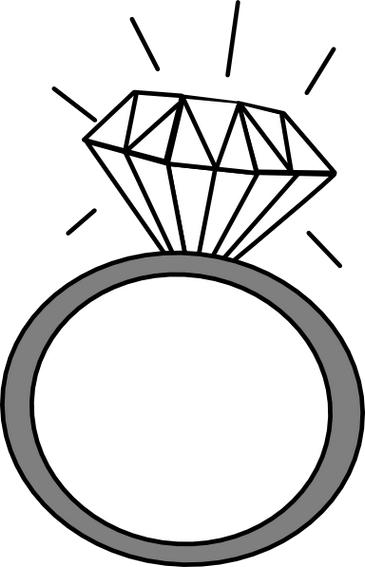 engagement ring clipart. Black Bedroom Furniture Sets. Home Design Ideas