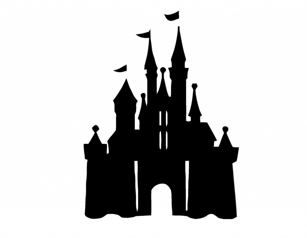 best disney castle clipart  4823