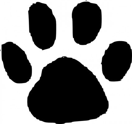 Dog Paw Print Clip Art Free Download Free