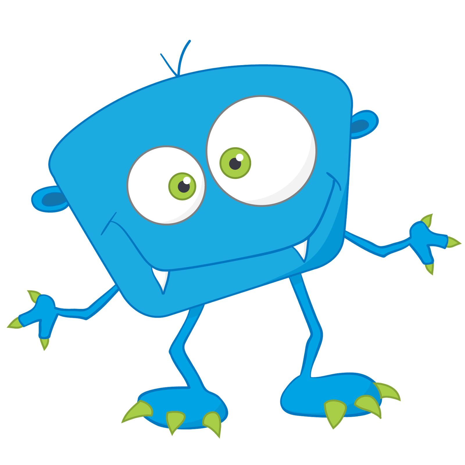 Dojo Monster Clipart
