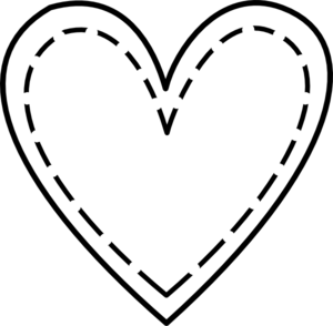 Double Heart Outline Clip Art At Vector Clip Art