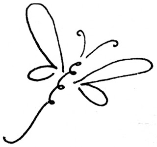Dragonfly Outline Images Amp Pictures Findpik