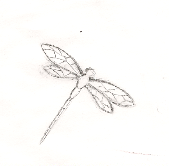Dragonfly Outlinedevoirshadow On Deviantart