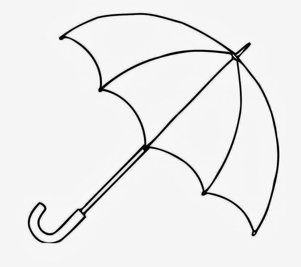 Drawings Of A Umbrella