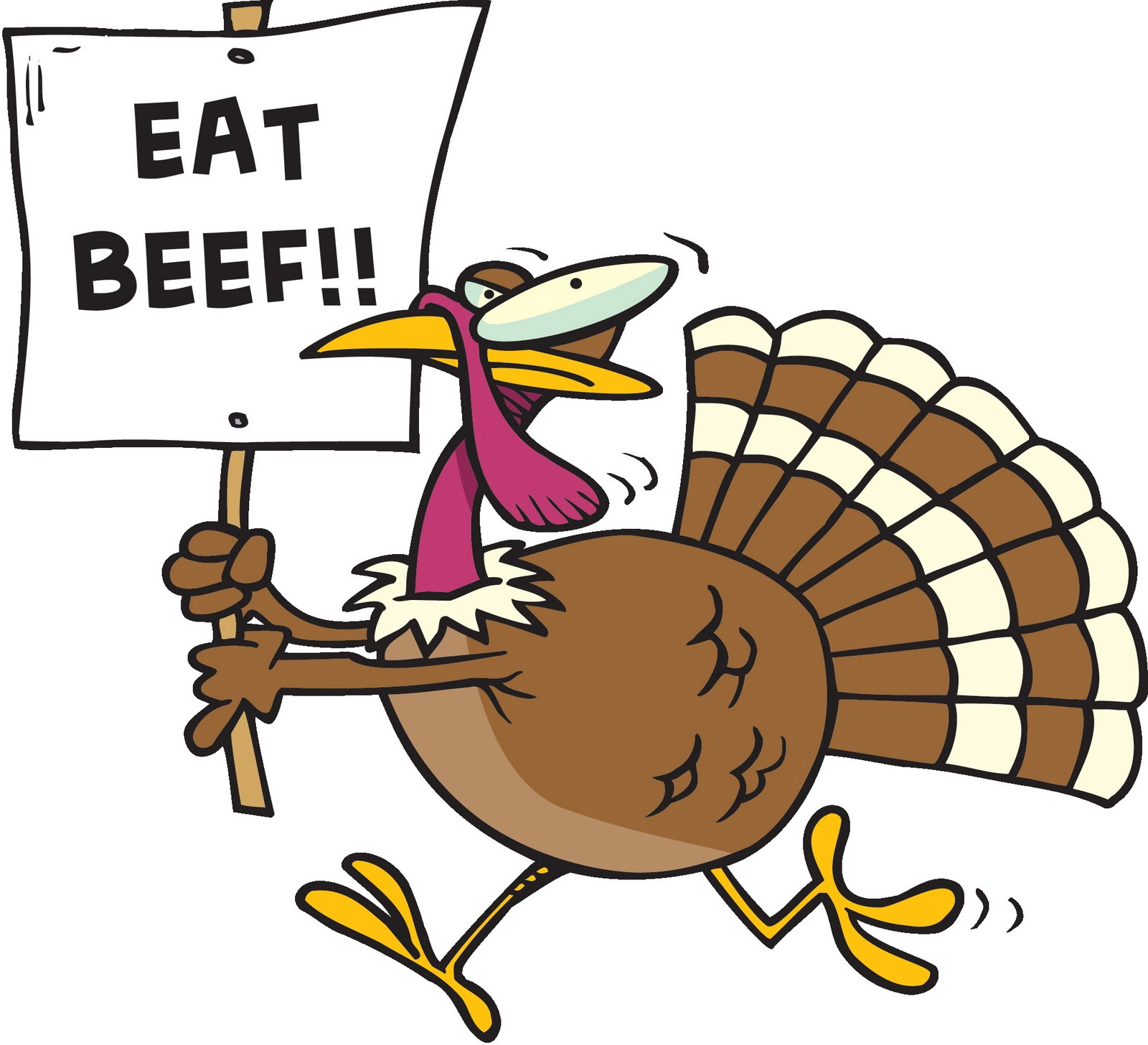 Eat Beef Turkey Clip Art 5