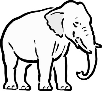 Elephant Images For Drawing