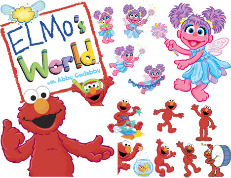 Elmo And Abby Clip Art Images