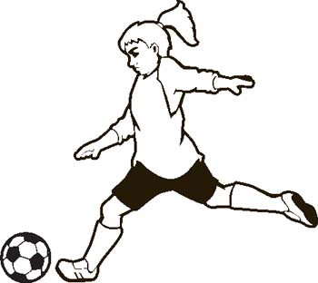 Engraving Creations Clipart Soccer