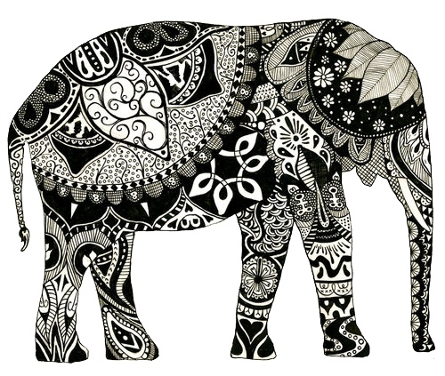 Everything Elephant On Pinterest Elephant Tattoos Elephants