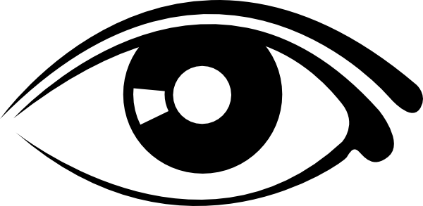 Eye Clip Art Black And White Free Clipart Images