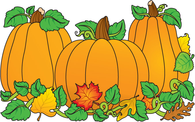 Fall Pumpkin Clip Art