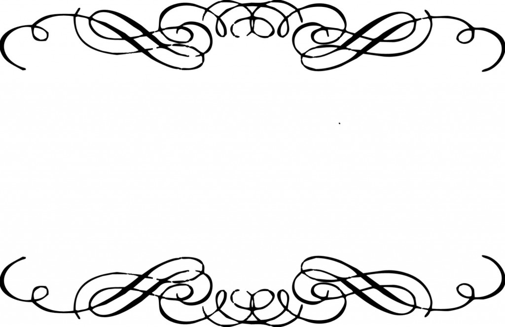 Fancy Corner Scroll Clip Art Free Clipart Images