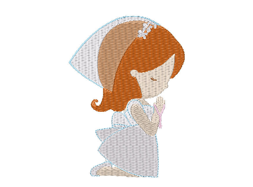 First Communion Girl Clipart Images