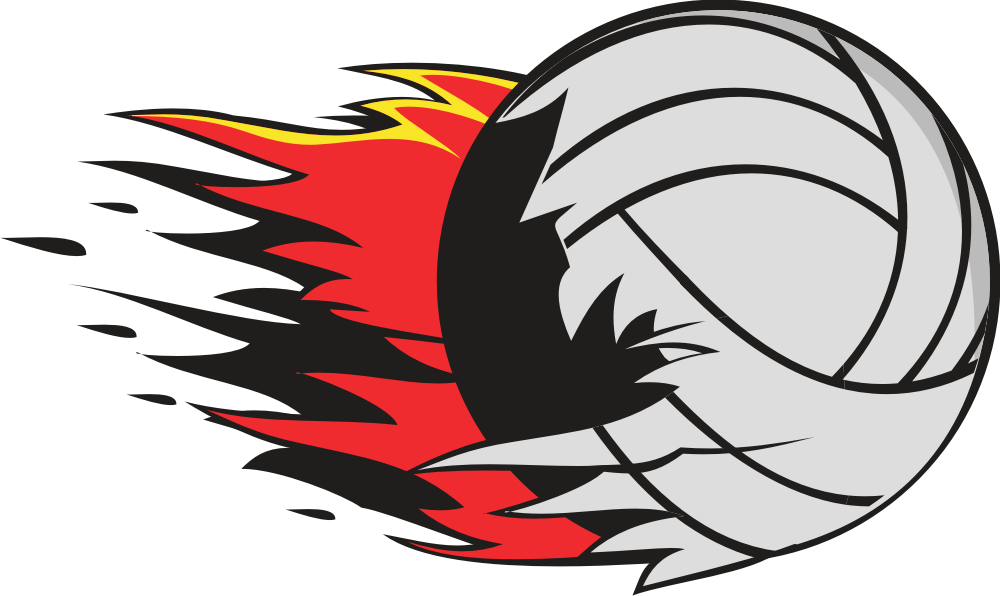 Flaming Volleyball Clipart Free Clipart Images