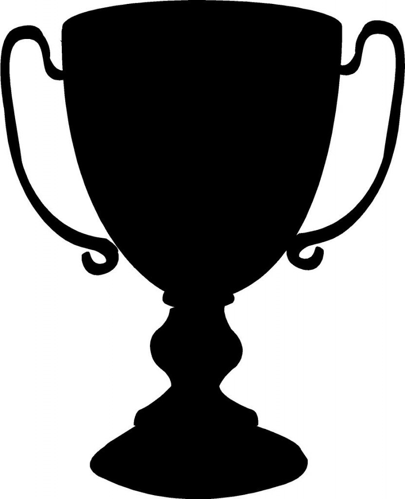 Trophy Clipart Black And White