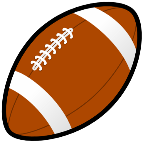 Football Clipart Black And White Free Clipart Images