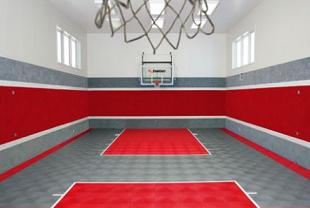 Free Basketball Court Clipart