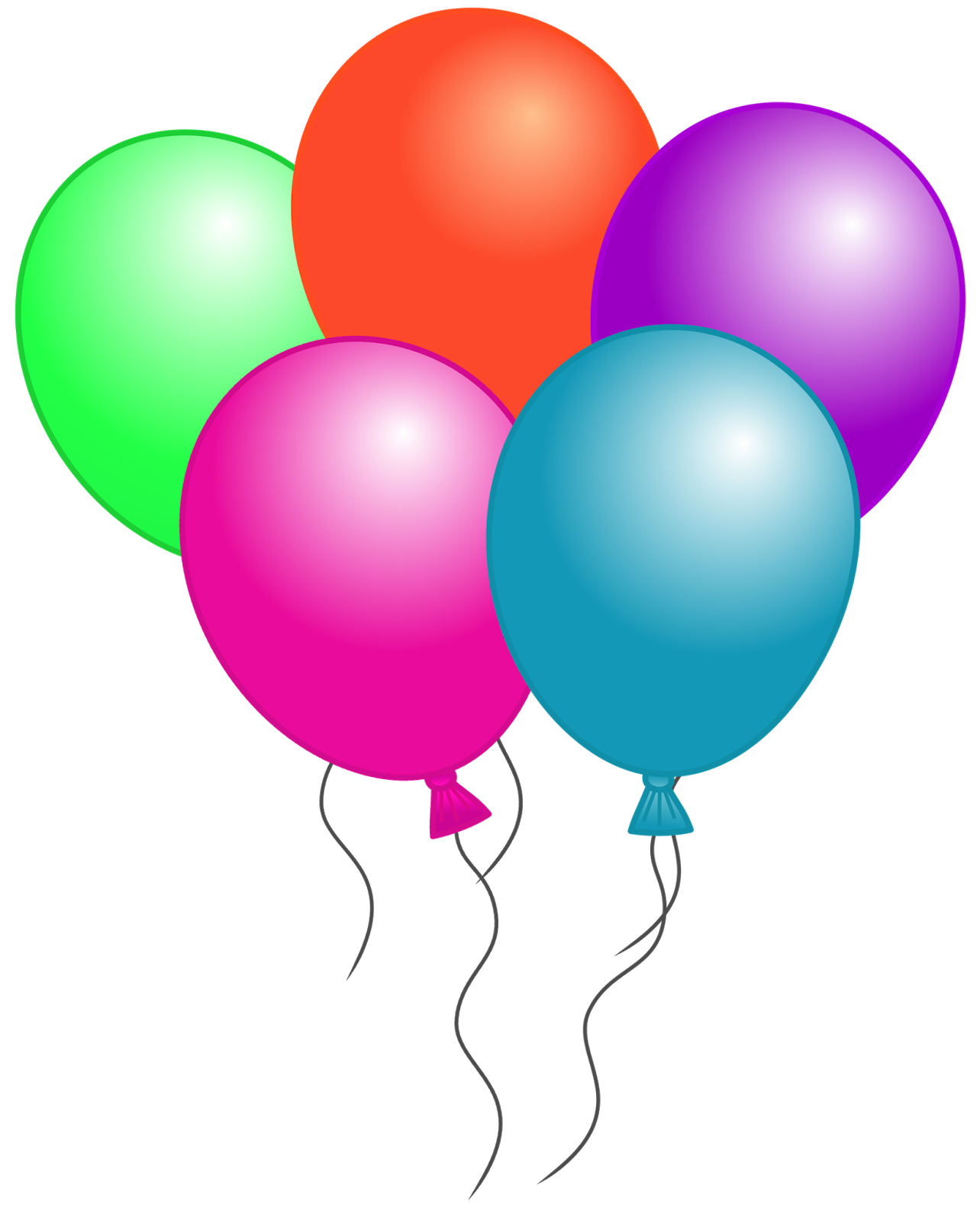 Free Birthday Balloon Clip Art Free Clipart Images