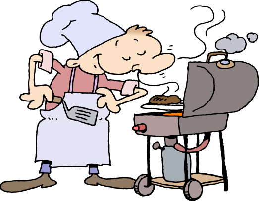 Free Clipart Bbq Page 1 For Labor Day Weekend Barbecue Grills