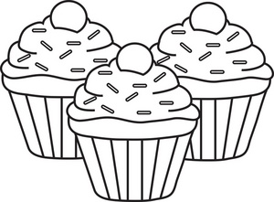 Clip Art Cupcake Clipart Black And White best cupcake clipart black and white 5199 clipartion com free clip art images more white