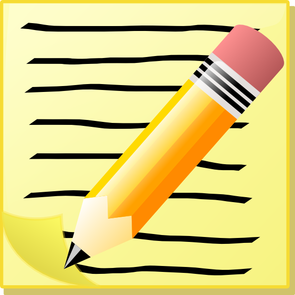 Free Letter Writing Clipart