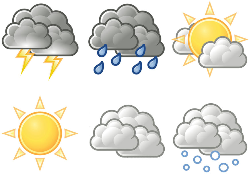 Free Printable Weather Symbols