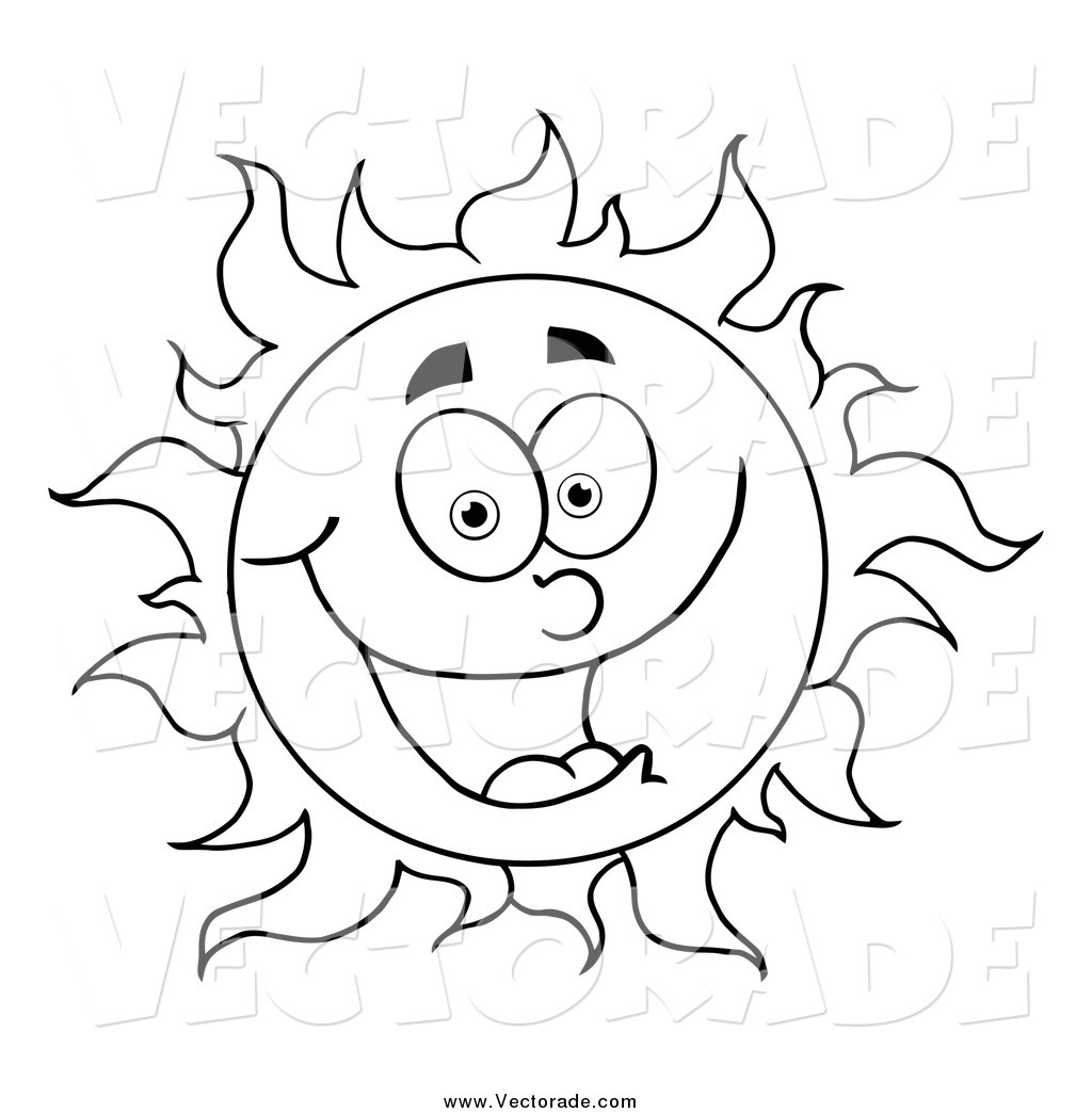 Free Sun Clipart Black And White School Clipart